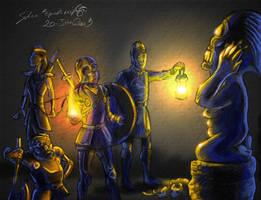 The Golden Idol of Kree by Epantiras