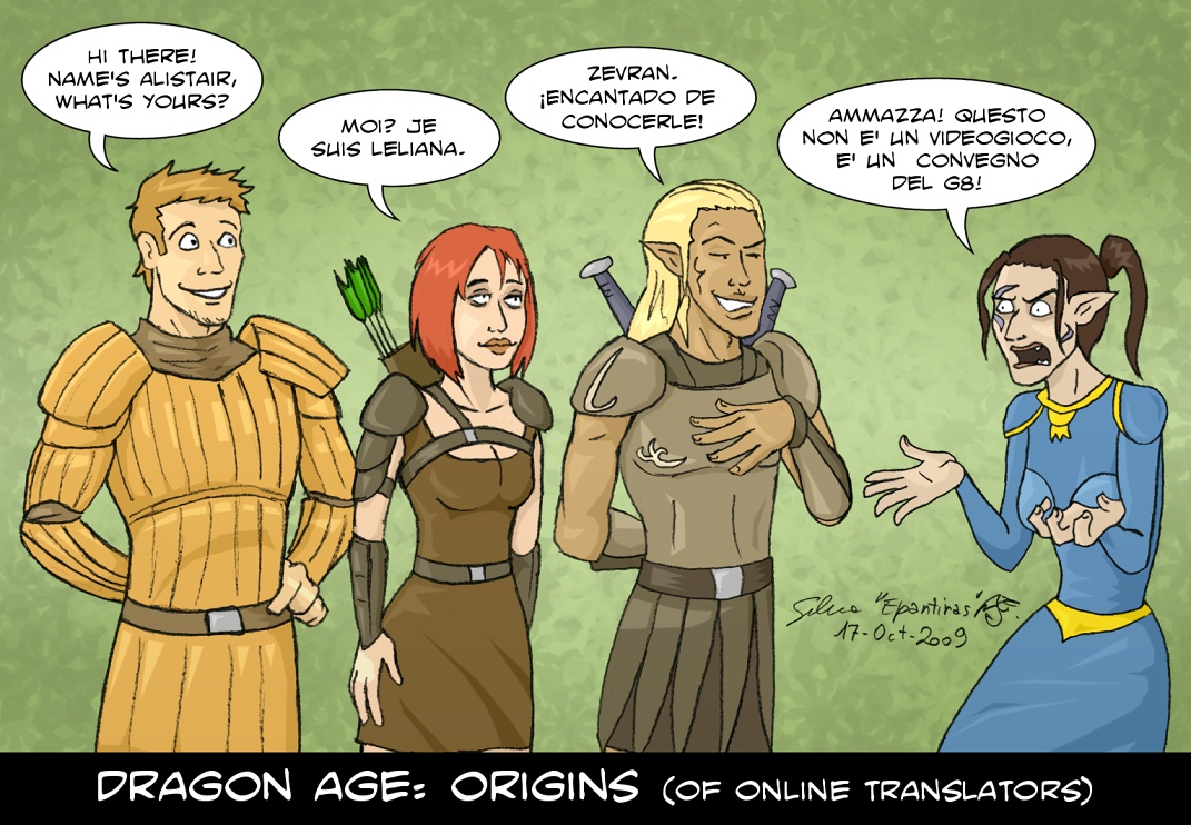 Dragon Age - Origins of... by Epantiras
