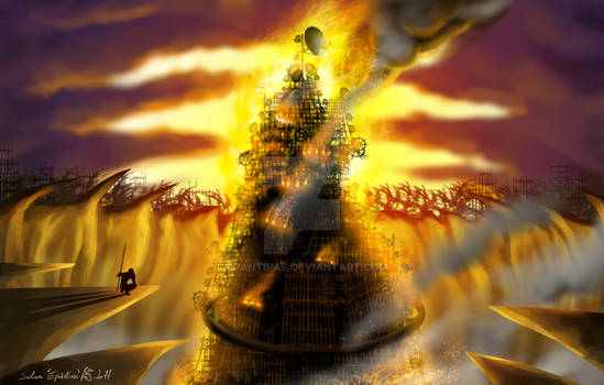 Babylon burns