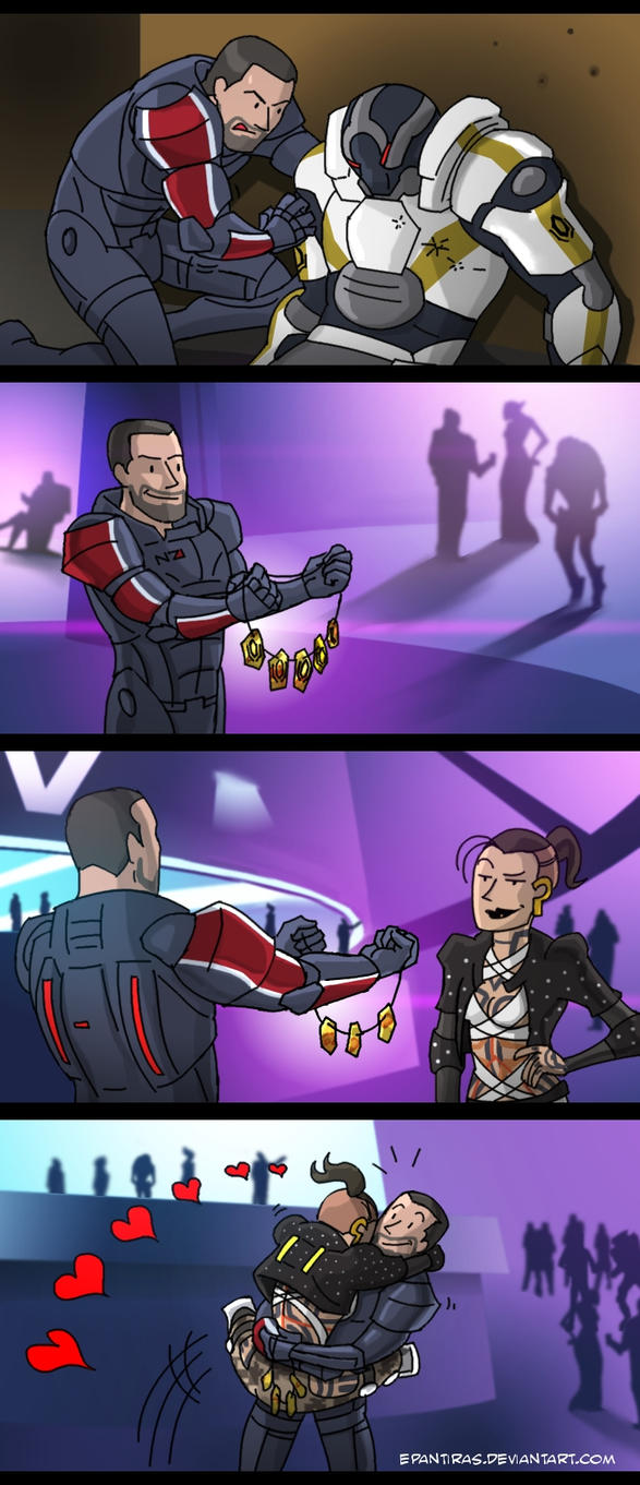 ME3 kill, loot, gift, PROFIT! by Epantiras