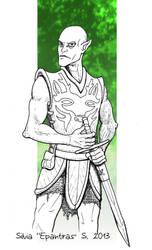 Pathfinder - elven saint by Epantiras