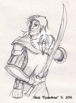 Pathfinder - cleric of Sarenrae