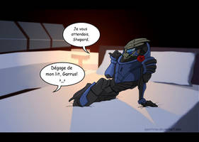 Surprise Garrus