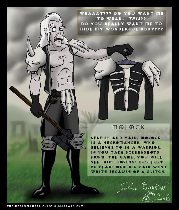 Diablo 2 - Molock by Epantiras