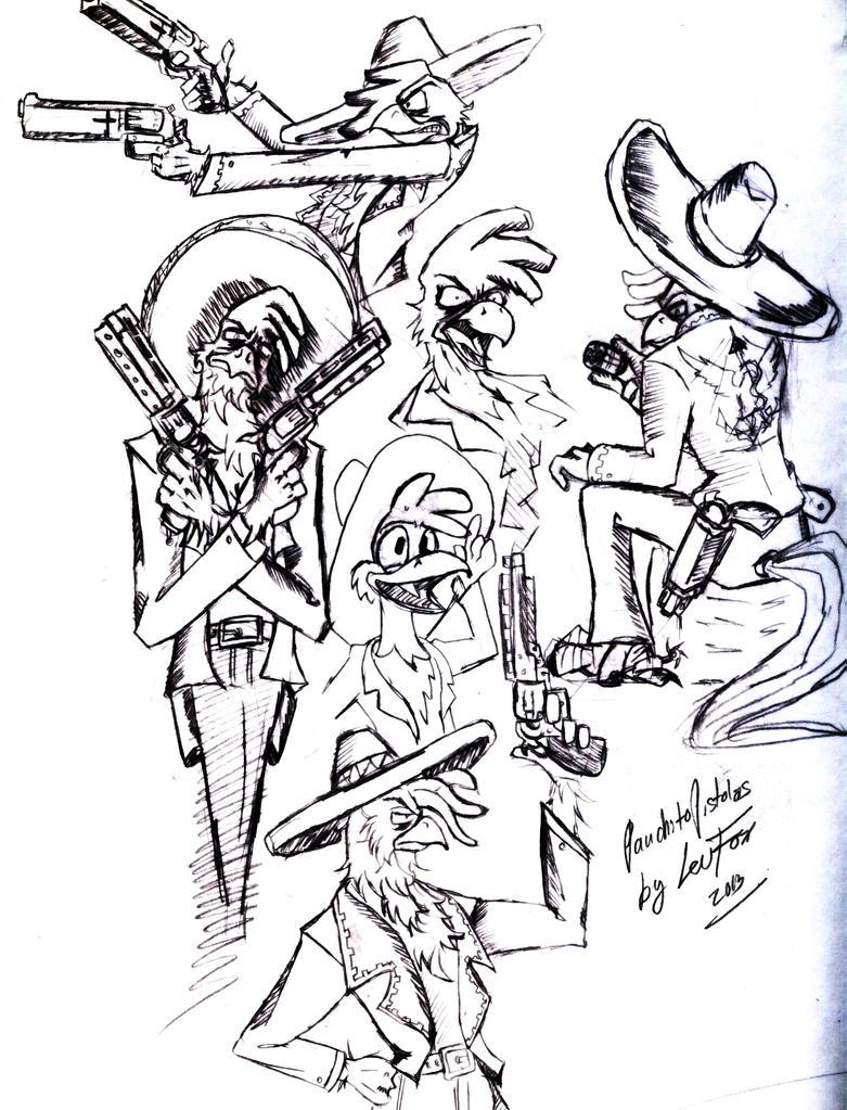 Don Francisco Pistolas by byLisboa