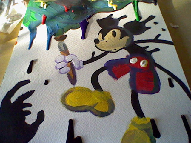 Epic Mickey: Painted by Arxryl