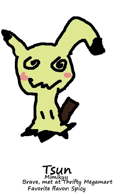 Tsun (Drawing my Team) by jkhero73