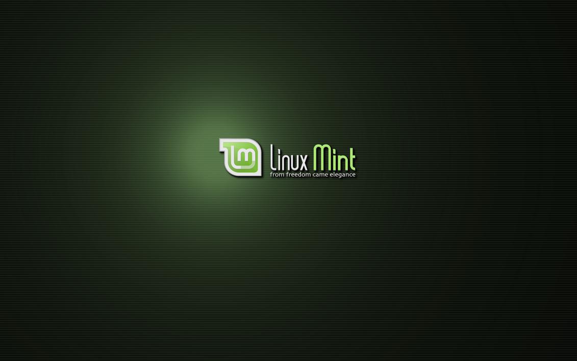 Mint Pinstripe 2 Widescreen by Zwopper