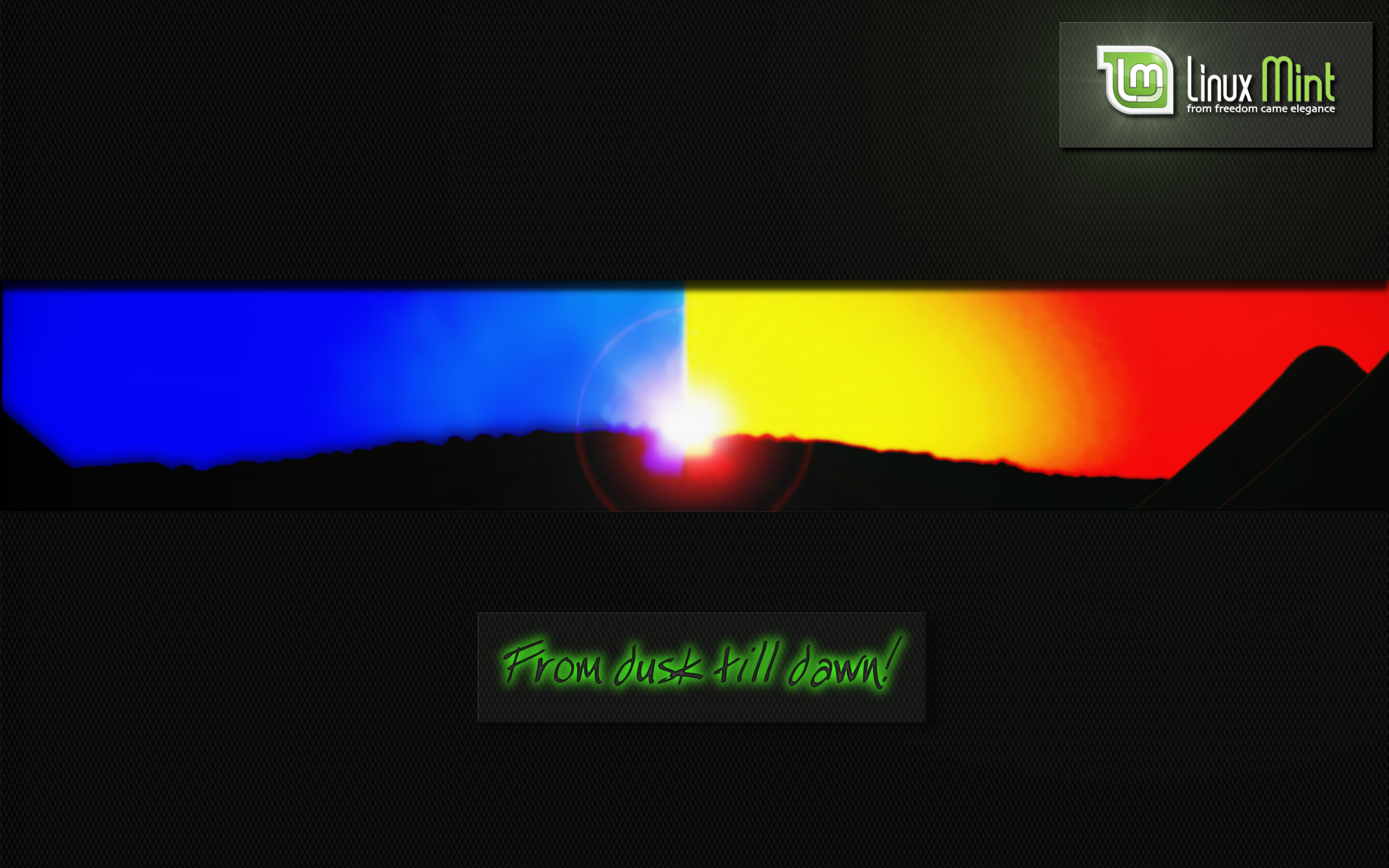 From Dusk Till Dawn New Wallpapers Linux Mint Forums
