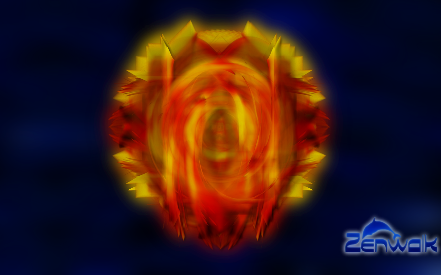 Zenwalk Flaming Feathers by Zwopper