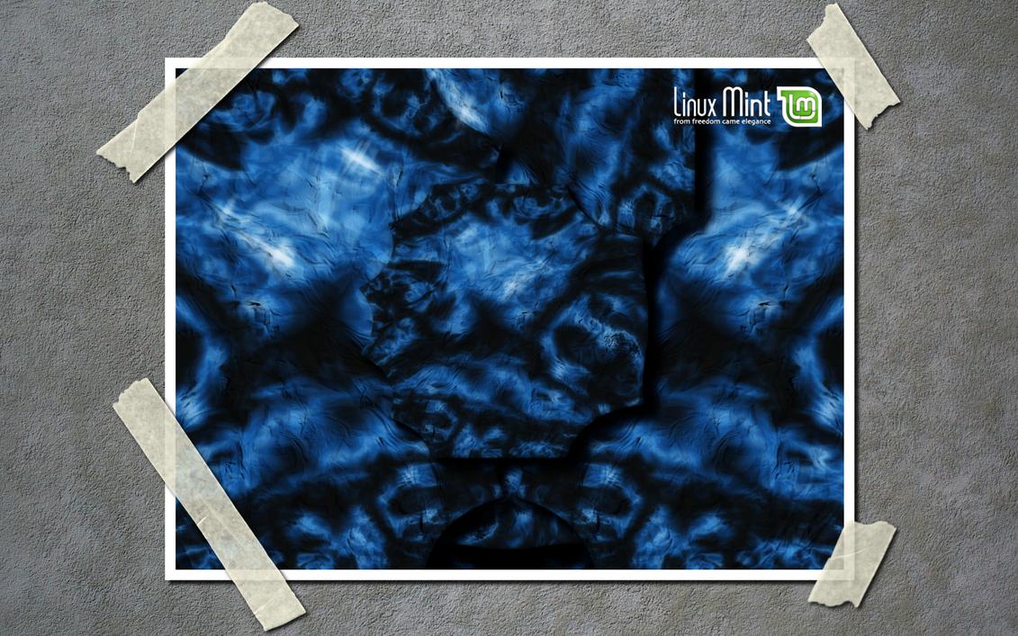 Mint Ocean Floor Poster Wide by Zwopper