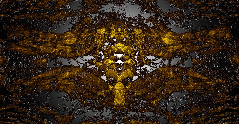 Metallic Space Fractal by Zwopper
