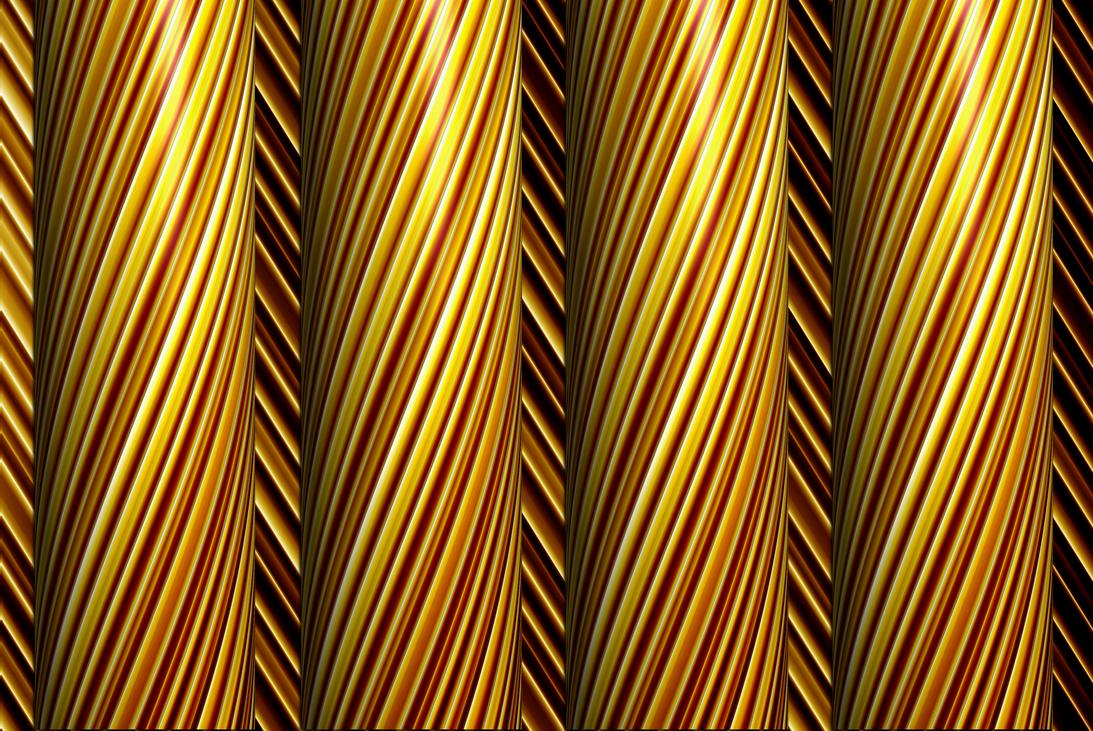 Gold Pillars by Zwopper