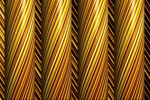 Gold Pillars
