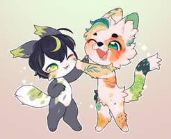 [C] Boopie and Milo.*+