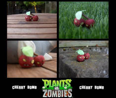 Plants vs Zombies Cherry Bomb by Newhound