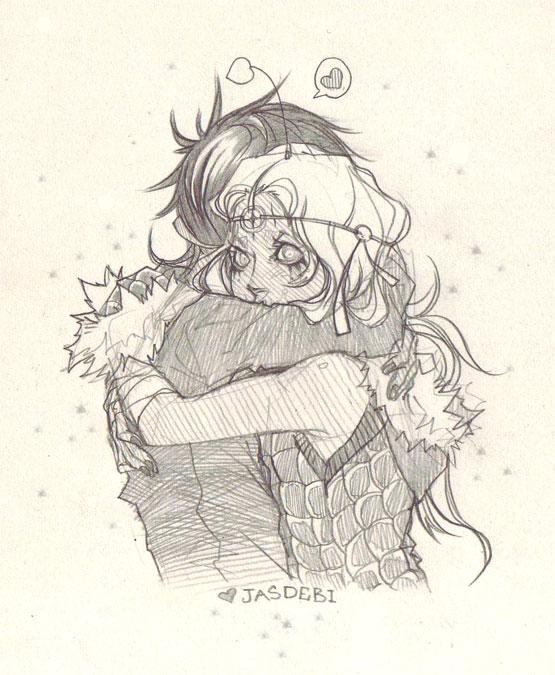 Jasdebi HUGG by CosmicSpectrumm