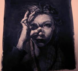 Selfportrait 1 by CosmicSpectrumm