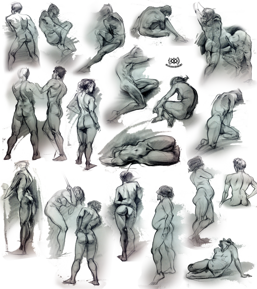 Lifedrawing by CosmicSpectrumm
