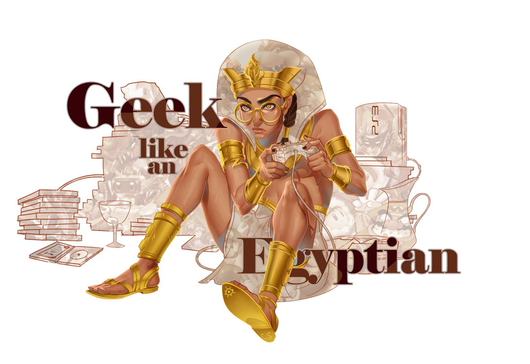 Egyptian2-txt-under-leg by CosmicSpectrumm