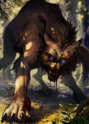 Wolf lol wut by CosmicSpectrumm