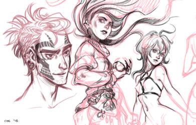 Jan.Daily sketch 1