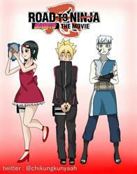 Boruto Road to Ninja by chikungkunyaah