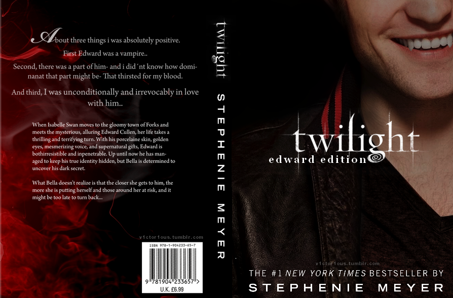 Twilight Series Book Cover Pictures : Twilight book cover remade edward edition by fliescanfly
