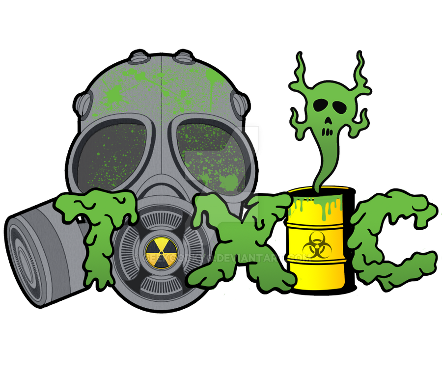 toxic logo by geekgodkyo on deviantart