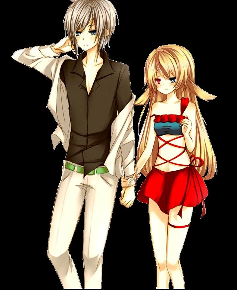 Anime Couple Png