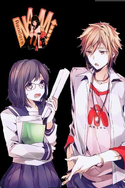 Anime Couple Png By Nanami Maechan On Deviantart