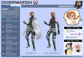 Hansel Gatewood - Gingerbread ::RefSheet:: by 7thDeath