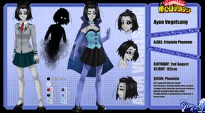 Ayon Vogelsang - Fraulein Phantom ::RefSheet: by 7thDeath
