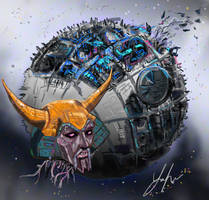 Unicron by RedSaucers