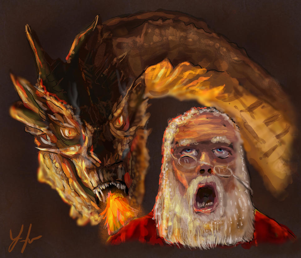 Hot Santa by RedSaucers