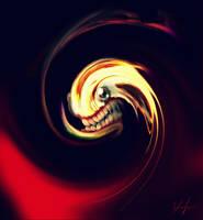 Swirly Alien by RedSaucers