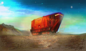 Sandcrawler by RedSaucers