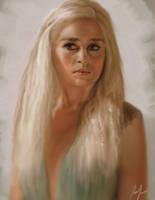 Daenerys by RedSaucers