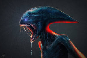 Alien Covenant by RedSaucers