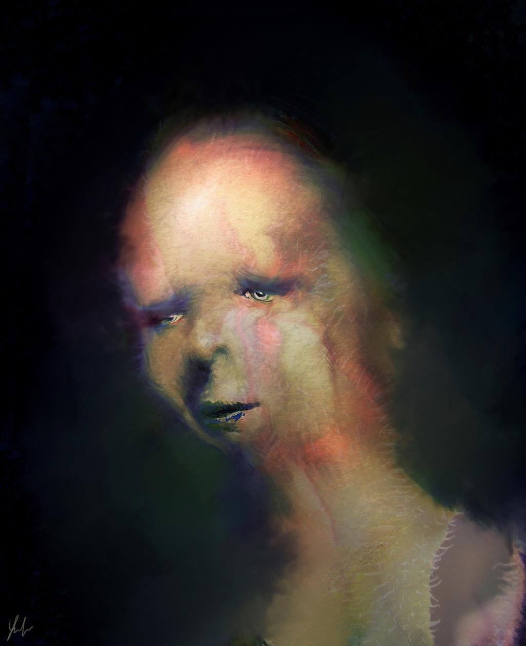 Weird Portrait by RedSaucers