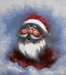 Santa by RedSaucers