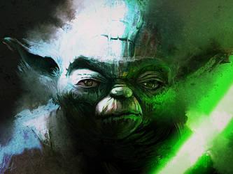Yoda by RedSaucers