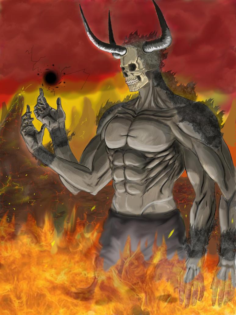 Skullface the Demon by lxlx-lx-xlxl