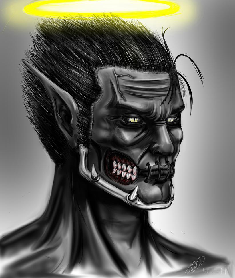 The Fallen Angel Luca by lxlx-lx-xlxl