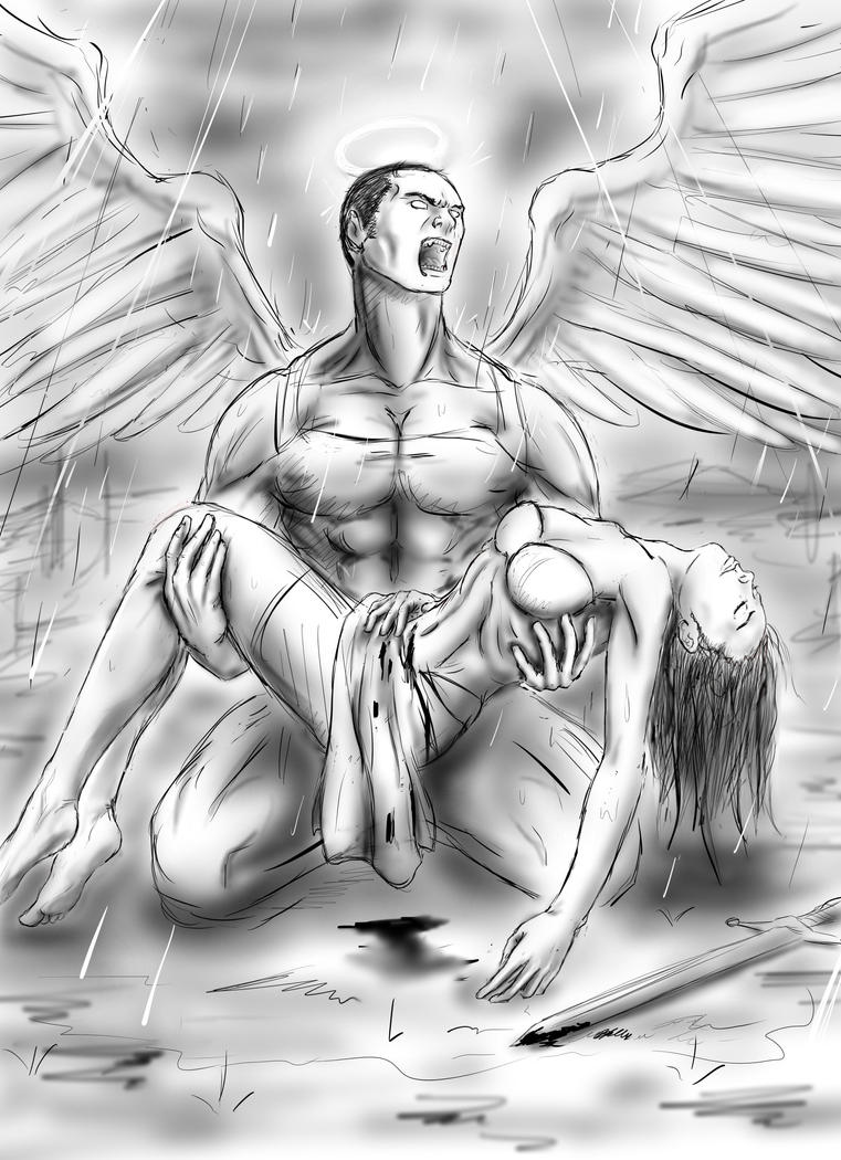 Horror ( quicksketch ) by lxlx-lx-xlxl