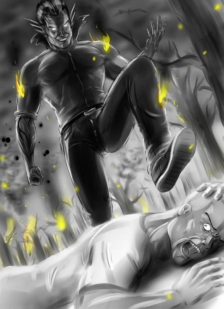 Don't be affraid, I'm just gonna KILL you :) by lxlx-lx-xlxl