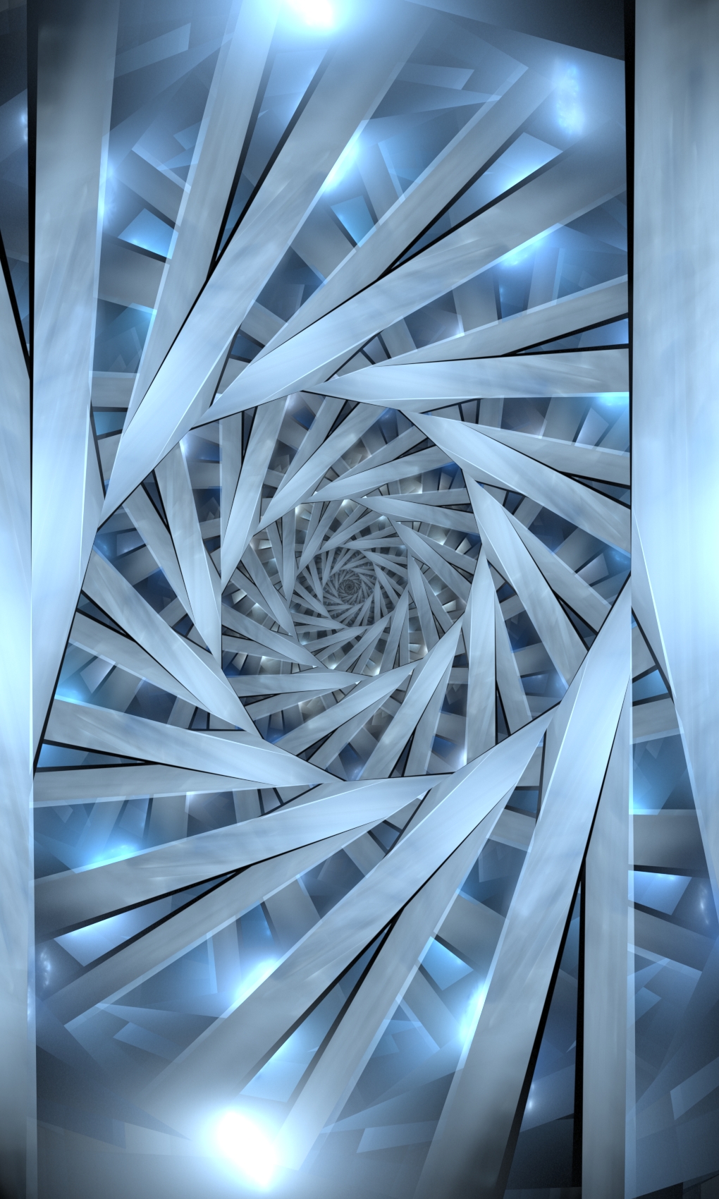 stairway fractal illustrations