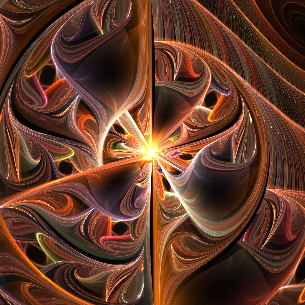 tears fractal art