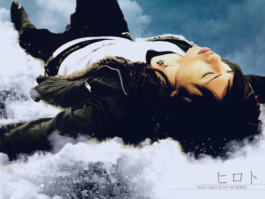 High Above My Worries - Hiroto by Bakageta-Koto