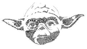Typographic Yoda